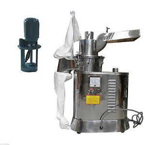 40kg h Automatic Continuous Hammer Herb Mill Grinder Df 40s Pulverizer 110v Y