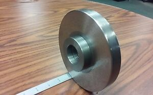 1 1 2 8 Semi finished Adapter Plate For 6 Lathe Chucks adp 06 1128sm New