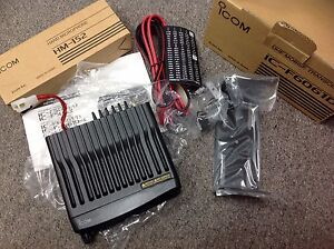 Icom Ic f6061d Uhf Mobile Transceiver 512 Ch 45w 400 470mhz New In Box