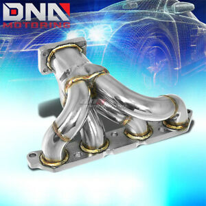 For 89 93 Celica Corolla 4afe T25 T28 Performance Turbo Charger Manifold Exhaust