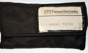 Pomona 5673b Electrical Dmm Test Lead Kit Fits Most Hand Held Meters
