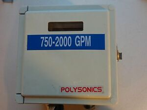 Polysonics Ddf5088 Flow Meter dedicated Digital Doppler Ultrasonic