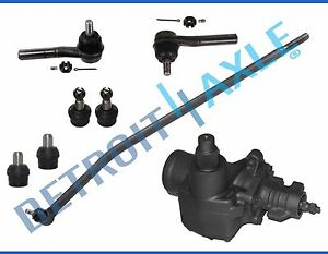 Complete 8pc Front Tie Rod And Gearbox Kit For 2006 Ford E 150 Cargo Van