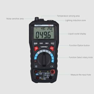 Bside Adm30 Lcd Digital Auto Range Multimeter Dmm Ac Dc Voltage Capaticance Test