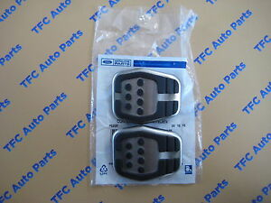 Ford Focus Pedal Pad Clutch Or Brake Aluminum And Rubber Oem New Set Of 2