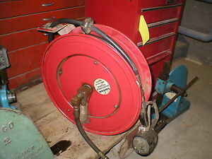National Spencer 1 2 X 50 Open type Oil Hose Reel