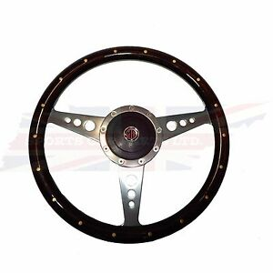 New 14 Wood Steering Wheel Adaptor For Mgb 1977 1980 1 Thick Rim