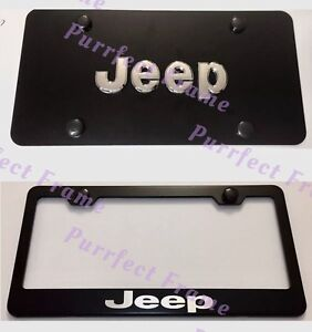 Jeep License Plate Frame In Stock Replacement Auto Auto