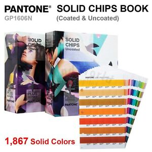 Pantone Color Plus Series Gp1606n Solid Guide Chips Book coated
