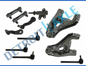 Complete 11pc Front Suspension Kit For Chevy Gmc Tahoe C1500 C2500 Suburban 2wd