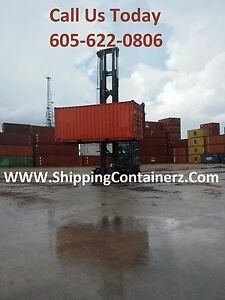 20ft Shipping Container Storage Container Conex Box In Detroit Mi