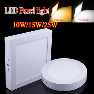 Surface Mounted Led Panel Light Dimmable Ceiling Downlight Wall Lamp 110v 220v