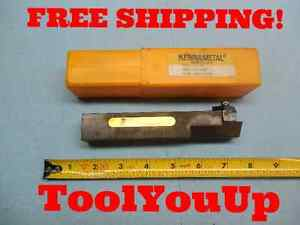 Kenametal Nel 164d 1 Dia Shank Top Notch Indexable Lathe Turning Tool Holder