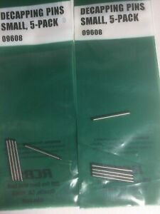 RCBS Decapping Pins Small 5 Pack 09608 NIP Free Shipping