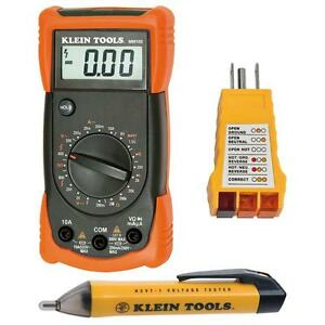 Electrical Test Kit multimeter non contact Voltage Tester receptacle Tester