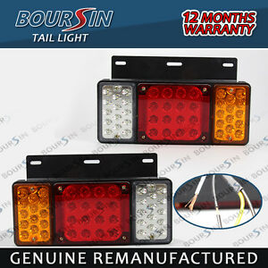 12v 44 Led s Rear Tail Light Fit Gmc W Series Isuzu Elf Truck Npr Nkr Nhr 1984