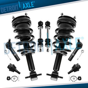 2007 2014 Suburban 1500 Tahoe Yukon Front Strut Ball Joint Sway Bar Tie Rod Kit