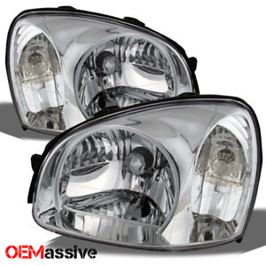 Fits 2003 2006 Santa Fe Replacement Headlights Lamps Left Right 03 04 05 06 Sets