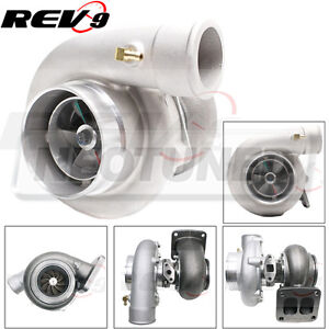 Rev9 Tx 66 62 Turbo Turbocharger 70 A R T4 Divided Flange 3 In V Band Exhaust