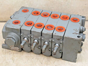 Commercial Shearing 4 Spool Hydraulic Valve 356 9204 025 Pb1288