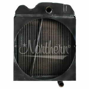 Oliver Tractor Radiator Ms513e 77 Super 77