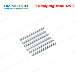 Diy 3d Printer Mendel Reprap Prus Dia 8mm Shaft 600mm Hardened Rod Ship From Us