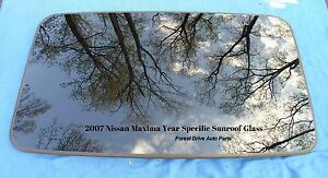 2007 Nissan Maxima Year Specific Oem Factory Sunroof Glass Free Shipping