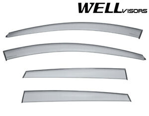 For 12 15 Chevrolet Captiva Sport Wellvisors Side Window Visors Premium Series