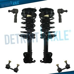 Front Struts Outer Tierods Sway Bar Kit For 1993 2000 2001 2002 Toyota Corolla