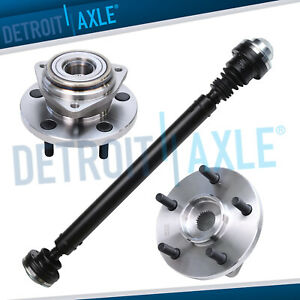 Front Drive Shaft Wheel Hubs 1999 2004 Jeep Grand Cherokee 20 W To W 4x4