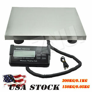 Smart Weigh Digital Shipping Postal Scale Heavy Duty Steel Weighing Scale