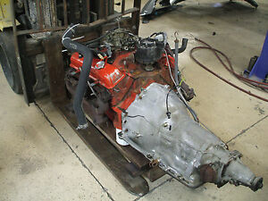 Chevrolet 350 Engine W turbo Hydra matic Transmisson Used 68 79 3970010