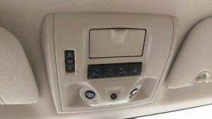 2008 09 10 Caravan Town And Country Mini Overhead Console Tan With Sunroof Opt