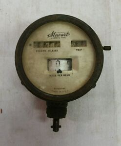 Stewart Warner Magnetic Type Speedometer 1910 S 1920 S