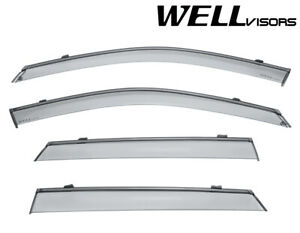 For 15 17 Land Rover Discovery Sport Clip On Wellvisors Side Window Visors
