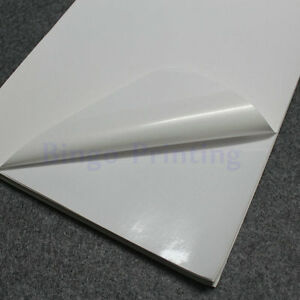 Polymer Paper synthetic Paper White A4 Sticker Only For Laser Printer 50pcs