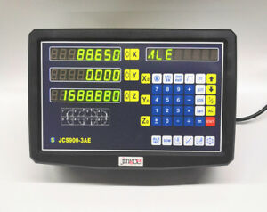 New Dro 3 Axis Digital Readout With High Precision Linear Scale Linear Encoder
