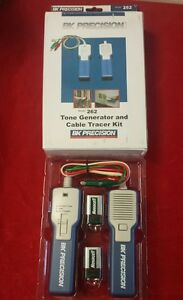 Bk Precision Model 262 Tone Generator And Cable Tracer Kit