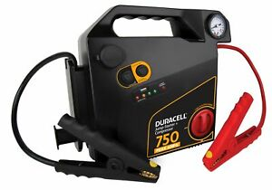 Duracell Portable Emergency Jumpstarter With Compressor Drjs20c