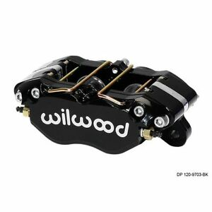 Wilwood 120 9693 Si Dynapro Lug Mount Caliper Black Anodize Universal 13 06