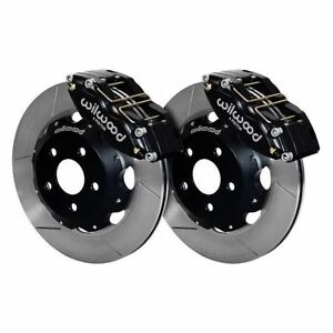 Wilwood 140 9193 Dynapro Radial Big Brake Front Hat Kit Slotted Surface Vented