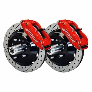 Wilwood 140 10309 r Forged Narrow Superlite 6r Big Brake Front Brake Kits