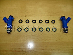 Fuel Injector Seal O Ring Kit For Acura Rdx 410cc Fuel Injectors 6 Cylinder