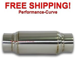 Exhaust Muffler Resonator 304 Stainless Steel 3 In 11 50 Long