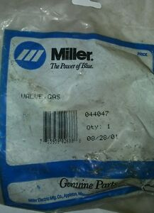 Miller Welder 044047 Gas Valve 058459 New And Old Numbers