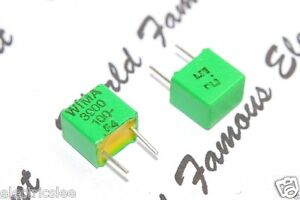 Wima Fkp2 3900p 3900pf 3 9nf 100v 2 5 Pitch 5mm Capacitor
