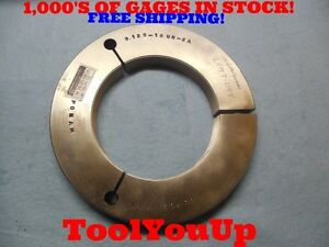 5 1 8 16 Un 2a Thread Ring Gage 5 125 Go Only Pd 5 0826 Precision Machine Tool