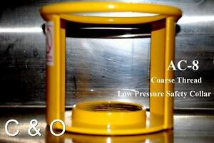 Griftan Acetylene Cylinder Safety Cap Ac 8 Coarse Thread Dot Osha Msha