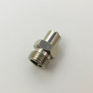 Metal Male Luer Lock Syringe Fitting To Pipe Bsp Bspp 1 4 Male P 35