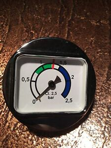 Boiler Pressure Gauge 58mm 0 2 5 Bar